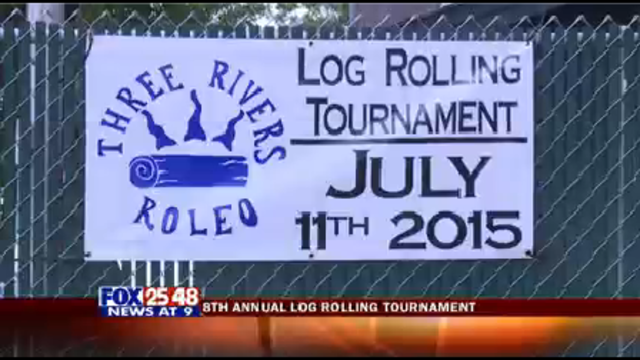 8th Annual Log Rolling Tournament