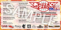 Order Your Pizza Card