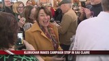 Amy Klobuchar Makes Campaign Stop in Eau Clarie