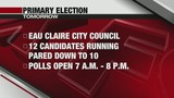 Eau Claire City Council Primary Election