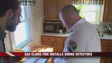 Eau Claire Firefighters Install Free Smoke Detectors in Homes