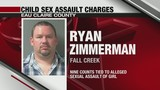 Fall Creek Man Charged with Child Sexual Assault