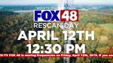 Rescan FOX 48 WEUX to pick up our new signal