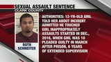 Clark County man sentenced in child sexual assault case
